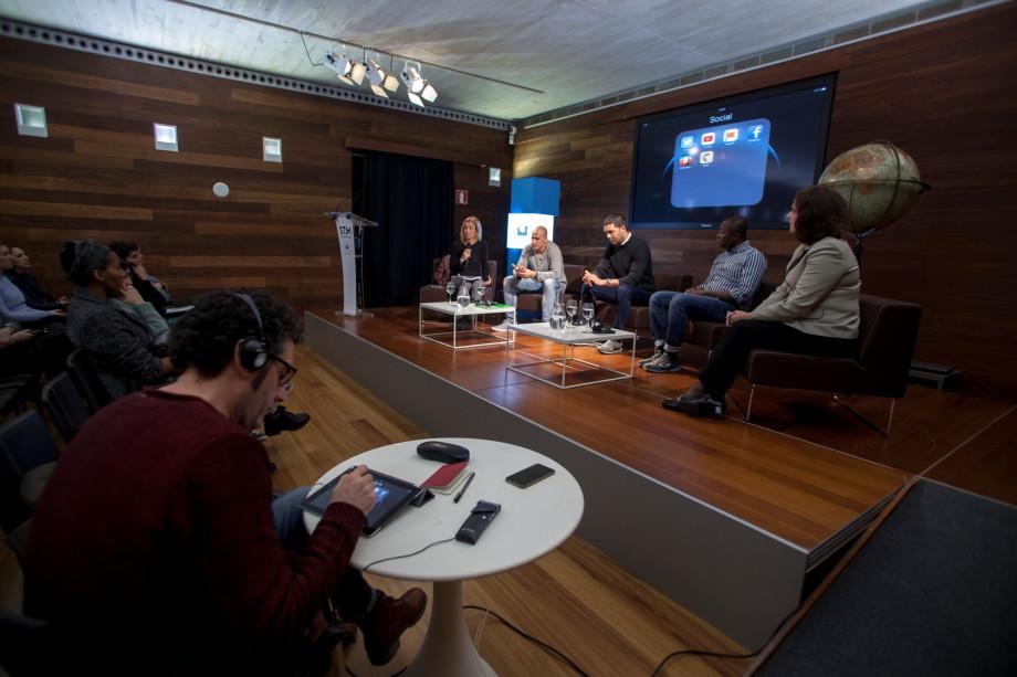 Durante el evento. Foto: Oskar Moreno