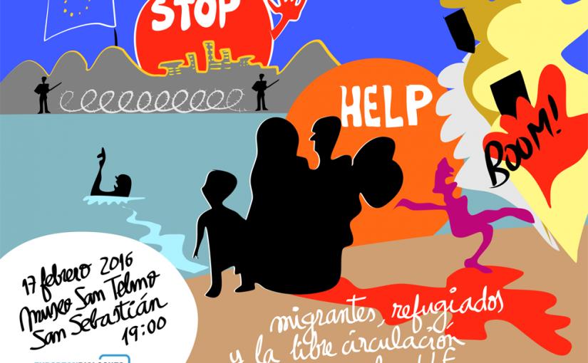 Graphic Recording: European Dialogues: Migrantes, refugiados y libre circulación en la UE
