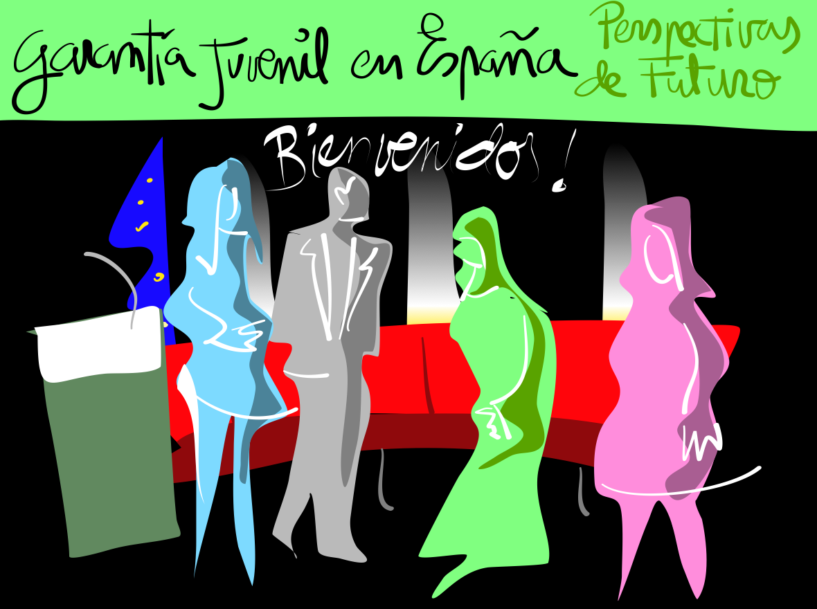 Graphic Recording: Youth Guarantee in Spain: The way forward