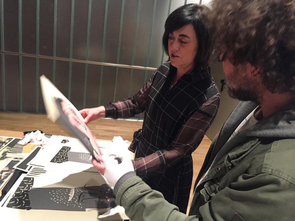 Gráfica Vectorial con Montse Nogueras en Selected Bilbao 2018